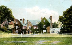 Elvington Court - postcard published by L R Hampshire Post office, Eythorne. Dover Museum