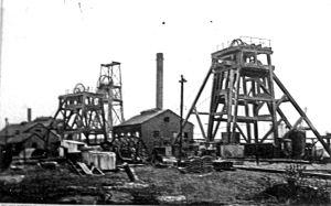 Tilmanstone Colliery c1915. Dover Museum