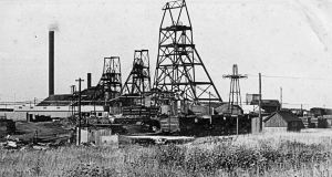 Tilmanstone colliery c1929 the Aerial Ropeway can be seen on the right. Dover Museum