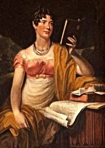 Sarah Gunman 1772-1825 by J F Joseph. Doddington Hall, Lincolnshire