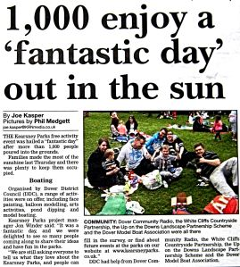 Kearsney Abbey - Dover Express 23 April 2015