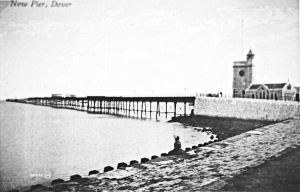 Prince of Wales Pier c1905. Dover Museum
