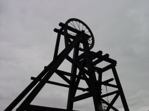 19th century colliery winding gear.