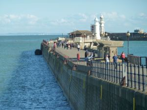 Last days of the Prince of Wales Pier before closure. AS September 2015