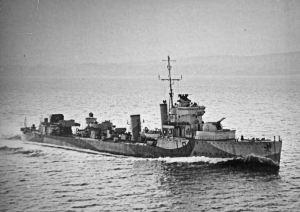 HMS Verdun - Admiralty 'V' class torpedo-boat destroyer that carried the Unknown Warrior home to Britain. Wikapaedia