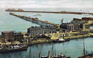 Iron Rings on the quay of Wellington Dock for Shakespeare Colliery 1909. Nick Catford