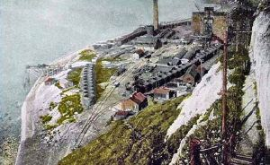 Shakespeare Colliery after the introduction of the Kind-Chauldron method of sinking in 1902. Nick Catford