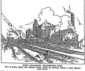 Shakespeare Colliery Boiler House and Pit head works in the Times of 24 April1912 demolished in the 1950s. Times