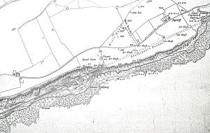 1919 map showing Shakespeare Colliery