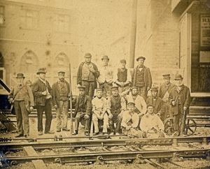 London, Chatham & Dover Railway Company labourers 1861. Dover Museum