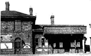 Priory Station May 1862 - Dover Museum
