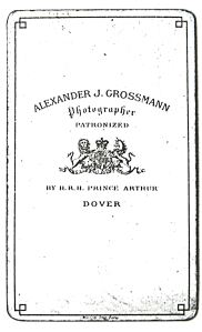 Alexander Grossmann photographer. Dover Library