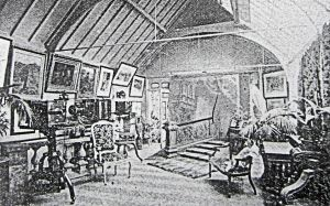 Interior of the famous Martin Jacolette studio at the rear of North Brook House, 17 Biggin Street. Joe Harman