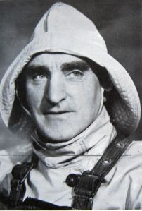 Lifeboat Coxswain John Walker photographed by Dorothy Sherwood for Lambert Weston. Dover RNLI