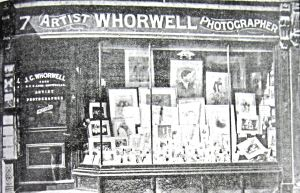 Photographer John George Whorwell 7 Bench Street 1899. Budge Adams Collection Dover Museum.