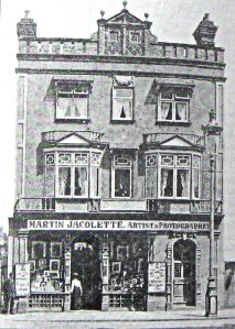 Martin Jacolette 17 Biggin Street c1895. Joe Harman