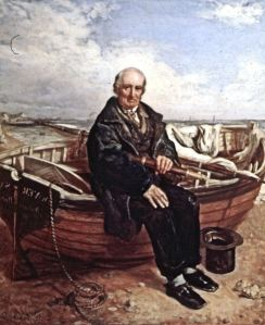 Pilot William Waters senior painted by his son, artist William Waters. Dover Museum