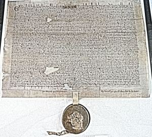 Faversham Magna Carta. AS 2015