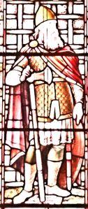 Godwyn (1001-1053) Earl of Kent - Mummery-Bamfield window Connaught Hall. - LS 2013