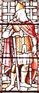 Godwyn (1001-1053) Earl of Kent - Mummery-Bamfield window Connaught Hall. - LS 2013