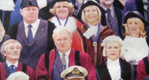 Dover Councillors as Barons of the Cinque Ports at the Installation of Lord Boyce as Lord Warden April 2005. Dover Mercury