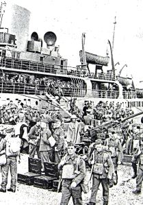 British Expeditionary Force arriving on the Continent September 1939 - Doyle Collection