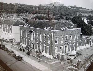 Dover Police Station, Park Street c 1970. Kent Police