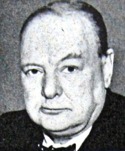 Winston Churchill - World War II Coalition Government Prime Minister 10.05.1940. LS Collection