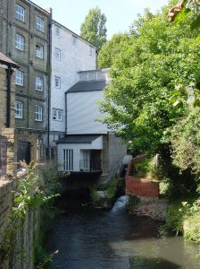 Buckland Corn Mill water wheel, Lorne Road. Alan Sencicle