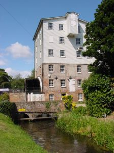 Crabble Mill on the Dour river. Alan Sencicle