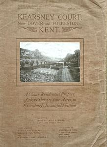 Kearsney Court - Sale Brochure 1912 - Harding Family