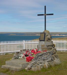 PARA 2 Memorial Falkland Islands. Alan Sencicle