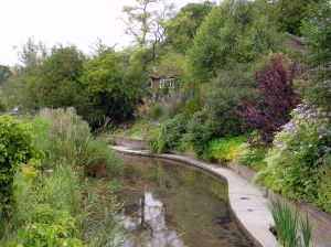 River Dour, Lower Road, Temple Ewell. Alan Sencicle