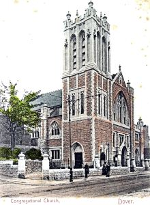 St Columba Congregational Church, High Street, Chalton on opening September 1904. Dover Library