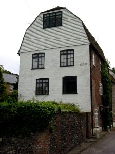 The converted former corn mill Temple Ewell. Alan Sencicle