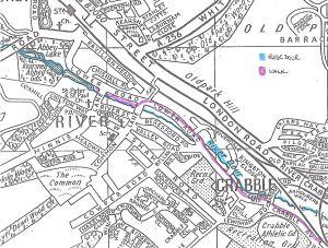 Dour Walk - River Map Service Publications c1990