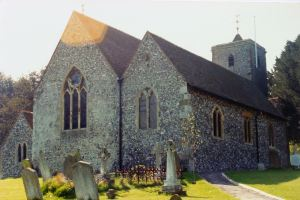 SS Peter & Paul Church Temple Ewell. Dover Library