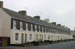 Dour Street cottages east side. Alan Sencicle
