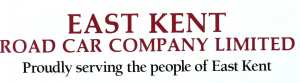 The distinctive East Kent Road Car Company logo that was agreed in the summer of 1916