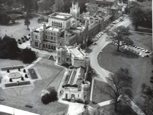 Ashridge College, Berkhamstead, Hertfordshire 1950s. EKRCC drivers went there to undertake the RSA Chartership course and exam in Transport and Operations. Ashridge Archive