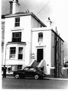 10 Pencester Road - EKRCC Booking & Enquiry Office where the Doctors surgery is today. Julie Wood's Dad