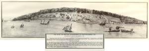 Naval Establishment at Penetanguishene, Canada 1818. Simcoe County Archives