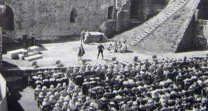 Dover Players Hamlet at the Castle 1960. Lambert Weston
