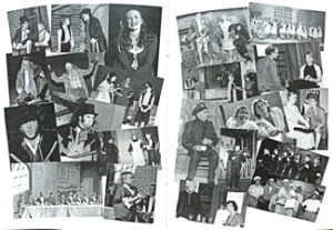 A compilation of photographs of different productions from the Centenary programme of Dover's longest running amateur theatre group - Dover Operatic and Dramatic Society. George & Julie Ruck
