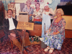 Dour Drama Group's production of Shop for Charity c2004. Peter Austen