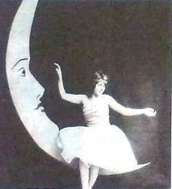 Guide Players December 1929 production of Sleeping Beauty with Pauline Selman as the Fairy Godmother. Joe Harman