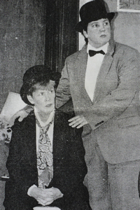 Julie Ruck and Kate Hibbert in the Dour Dramatic Society's production of Killing of Sister George 1990. Kent Messenger