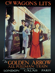 Golden Arrow - Southern Railways Publicity Department c1929 Wikimedia.org