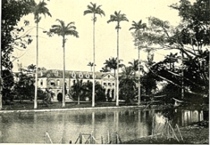 Belize Government House - Pocket Guide to the West Indies - Belize by John E Aspinal (1914) Internet Archive Book Images via Wikimedia-Commons