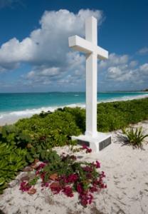 Christopher Columbus Cross, Cockburn Town, San Salvador. Bahamas Ministry of Tourism